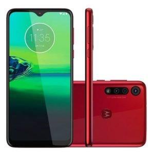Smartphone Motorola Moto G8 Play Xt2015-2 32Gb Vermelho Magenta